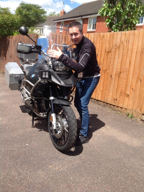 David being reunited with his toy! A magic moment in a mans life!