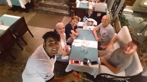 Fun at an Istanbul Restaurant