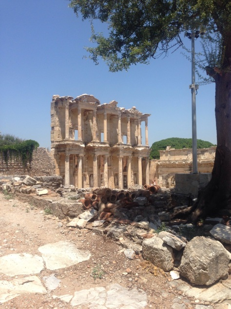 Ruins of Ephesus dating back to 1,200B.C.