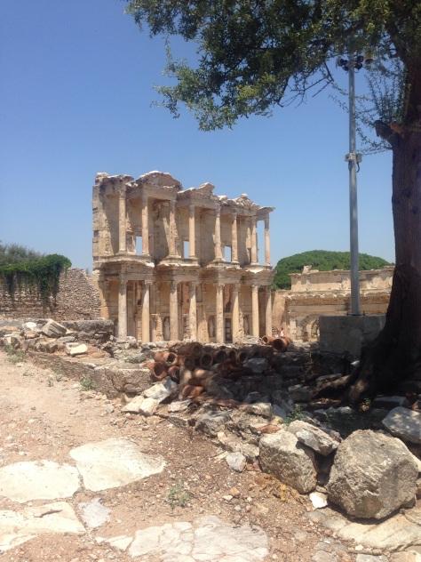 Ruins of Ephesus dating back to 1,200B.C.
