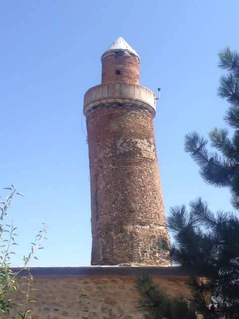 An ancient Turkish version of the Leaning Tower of Pisa!