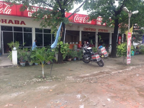 A typical road side restaurant that we stop at