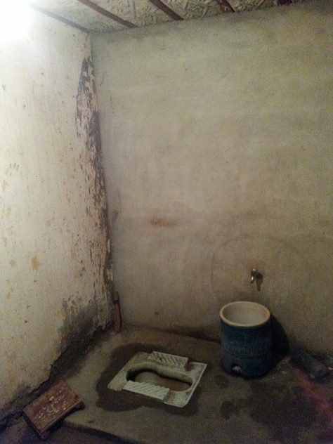 The Taftan Police compound toilet. Pretty much as base as you can go!