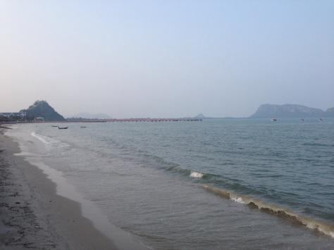 Prachuap Khiri Khan beach. Lovely