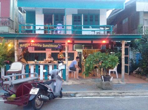 A lovely hotel/Cafe alongside the beach. Very laid back.