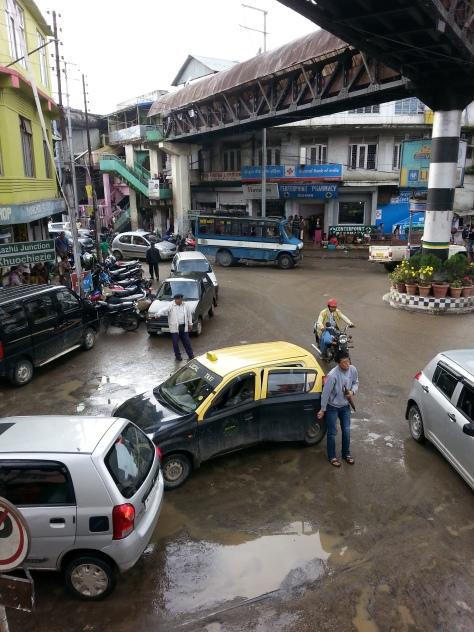Downtown Kohima town